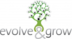 Evolve and grow - logo